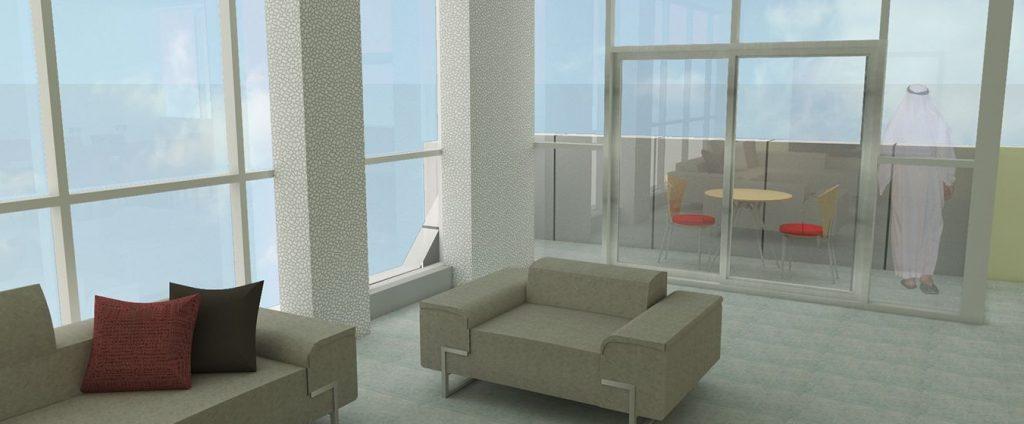 M-Tower interior